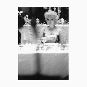 Your Table Awaits Archival Pigment Print Framed in White by Ed Feingersh