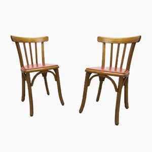 Bistro Chairs from Luterma, 1930s, Set of 2