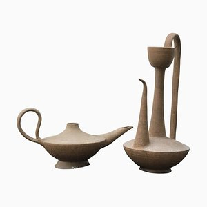 Mauritanian Pottery, Set of 2