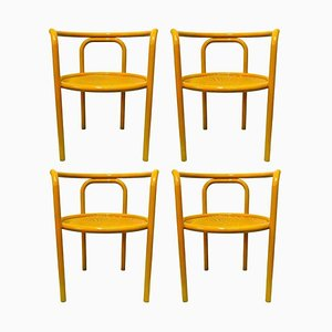Solus Locus Dining Chairs by Gae Aulenti for Poltronova, 1960s, Set of 4