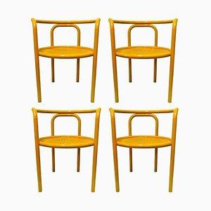 Solus Locus Esszimmerstühle von Gae Aulenti für Poltronova, 1960er, 4er Set