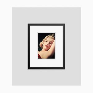Marilyn Monroe Framed in Black by Bettmann