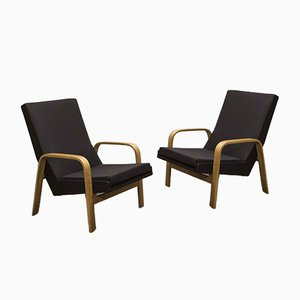 Lounge Chairs by A.R.P. for Steiner, 1950s, Set of 2