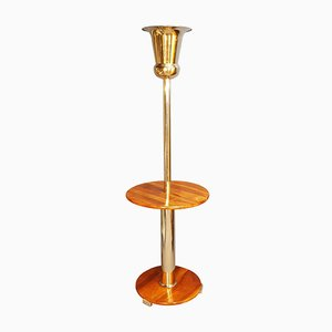 Art Deco Pedestal Floor Lamp, 1930s