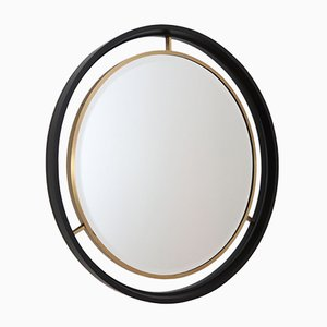 Italian Wall Mirror with Double Frame, 1960s