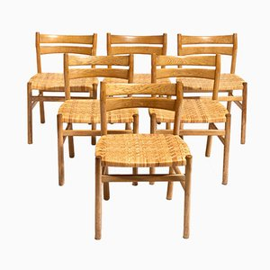 Dining Chairs by Borge Mogensen for C.M. Madsen, Set of 6