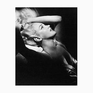 Marilyn Monroe Archival Pigment Print Framed in Black