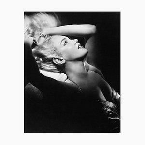Marilyn Monroe Archivdruck in Schwarz