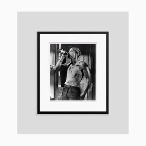 Brando as Stanley Archival Pigment Print Framed in Black by Alamy Archives