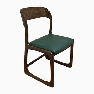 Model Sled Dining Chair from Baumann, 1960s