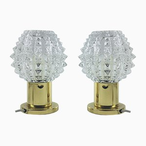 Vintage Table Lamps from Kamenický Šenov, Set of 2