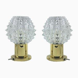Vintage Tischlampen von Kamenický Šenov, 2er Set