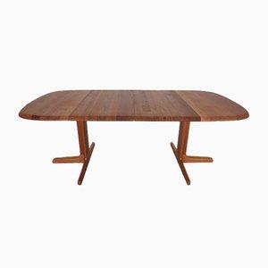 Tavolo da pranzo allungabile in teak di Glostrup, anni '60