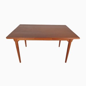 Extendable Teak Dining Table from Omann Jun, 1960s
