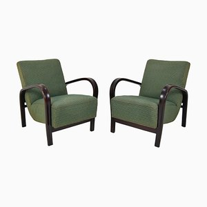 Mid-Century Armchairs by Karel Kozelka & Antonin Kropacek, 1950s, Set of 2