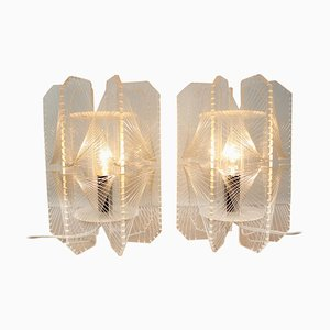 Plastic Table Lamps, 1960s, Set of 2