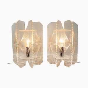 Tischlampen aus Kunststoff, 1960er, 2er Set