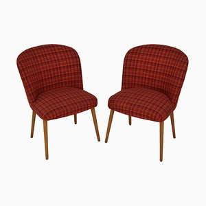 Mid-Century Upholstered Chairs, 1960s, Set of 2