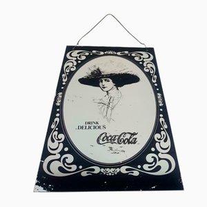 Vintage Coca Cola Advertising Mirror
