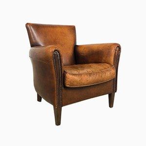 Vintage Sheep Leather Armchair
