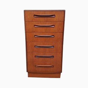 Mid-Century Teak Fresco Chest of Drawers from G-Plan