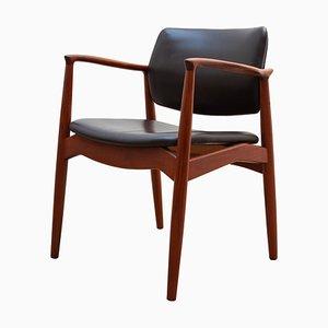 Teak Side Chair by Arne Vodder for Sibast, Denmark, 1950s