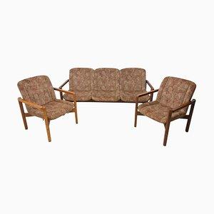 Tschechoslowakische Vintage Sitzgruppe, 1980er