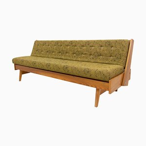 Mid-Century Czech Folding Sofa Bed, 1960s