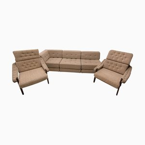 Czech Modular Seating Group, 1980s, Set of 3