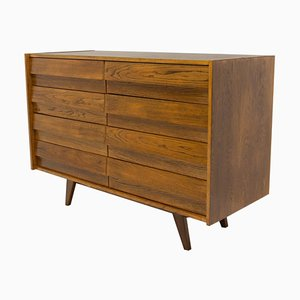 Czech U-453 Chest of Drawers by Jiri Jiroutek for Interiér Praha, 1960s