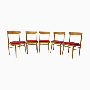 Czech Dining Chairs from Thonet, 1970s, Set of 5