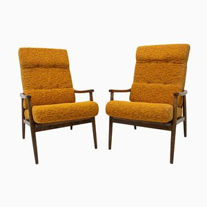 Mid-Century Czech Armchairs from Thonet, 1960s, Set of 2
