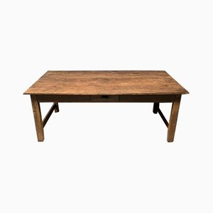 Large Antique French Farmhouse Table