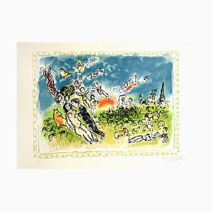 Summer's Dream Lithograph by Marc Chagall, 1983