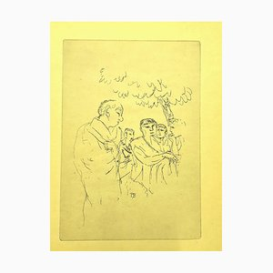 People Etching by Pierre Bonnard, 1940