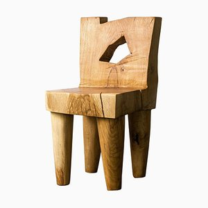 Valletta Oak Chair Sculpted by Vince Skelly