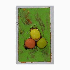 Untitled Fruits Mixed Media von Mario Schifano, 1995