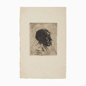 Portrait Etching on Paper, 1907