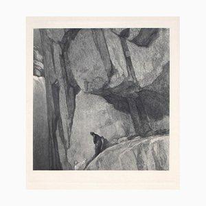 Héliogravure Dante Vintage par Franz von Bayros