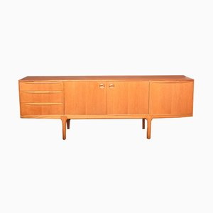 Long Teak Torpedo Sideboard from McIntosh, 1960s