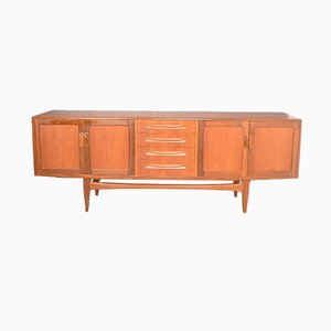 Long Teak Fresco Sideboard by V B Wilkins for G-Plan, 1960s