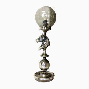 Lampe de Bureau Vintage avec Tête de Cheval, 1960s