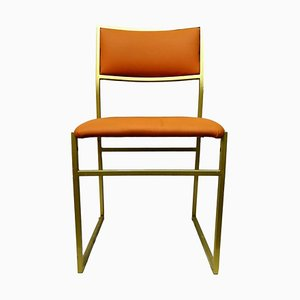 Mid-Century Apricot Dining Chair, 1970s