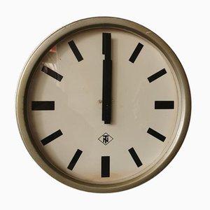 Industrielle Deutsche Uhr von TN / Telefonbau und Nomalzeit, 1950er