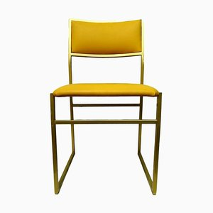 Mid-Century Yellow Dining Chair, 1970s