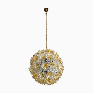 Deckenlampe von Toni Zuccheri für Venini, 1970er