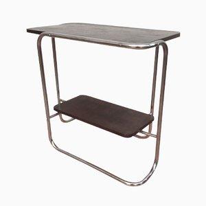 Vintage Bauhaus Tubular Steel Table