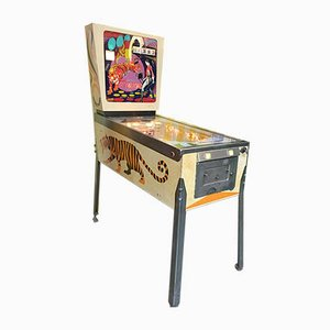 American Tiger Pinball Game from Gottlieb, 1970s