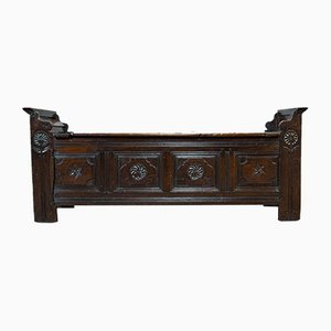 Antique French Oak Coffer