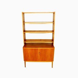 Teak & Beech Wall Unit, 1960s